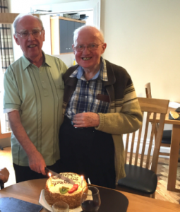 Frs Fintan and Dominic  grateful for 50 Years of Blessings!